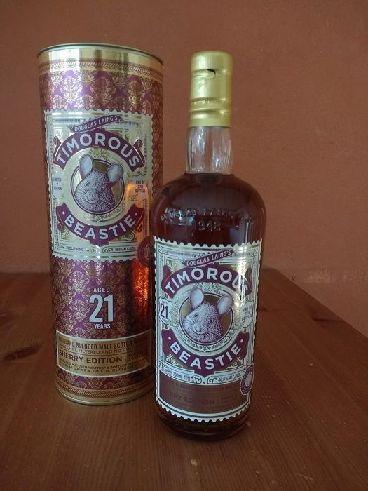 Timorous Beastie 21 years old Sherry edition - Douglas Laing - 0.7 Ltr