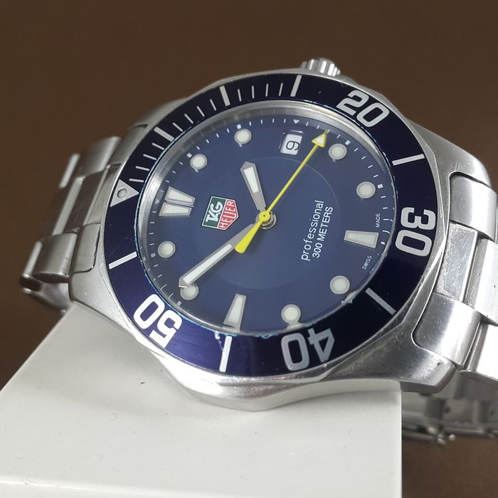 "TAG Heuer - Aquaracer Professional 300m ""NO RESERVE PRICE"" - WAB1112 - Men - 2000-2010"
