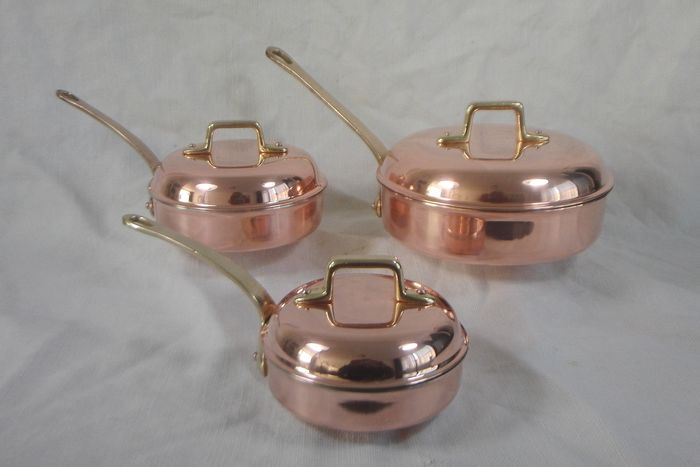 6 Piece Copper Cookware Set - Copper