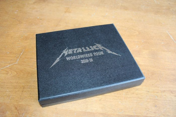 Metallica - VIP Gift Box Set Worldwired Tour 2018-19 - Official merchandise memorabilia item - 2018/2019