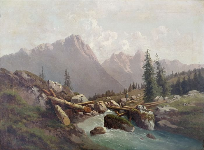 Josef Theurich - In the Alps
