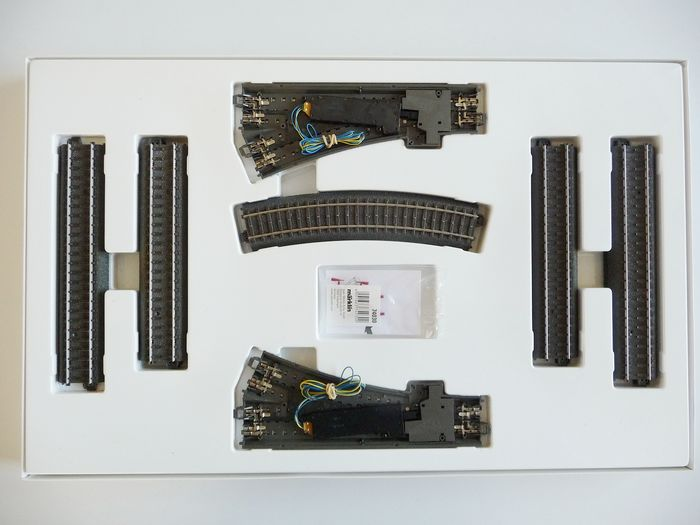 Märklin H0 - 24902 - Tracks - Extension set C2, with 2 electrical points