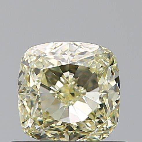 1 pcs Diamond - 0.56 ct - Cushion - w to x range - VVS1