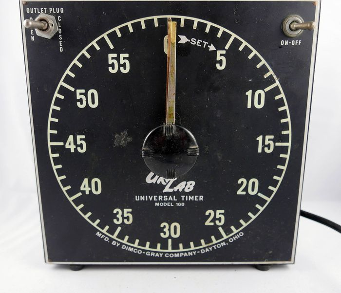 DIMCO-GRAY COMPANY Gra-Lab Darkroom Timer USA - works well