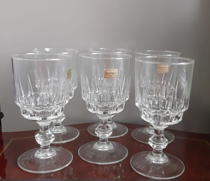 D'Arques - wine glasses (6) - Crystal