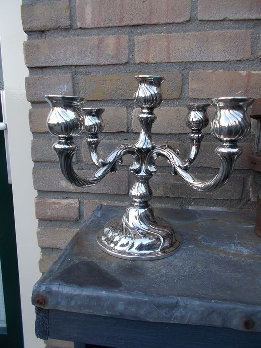 lwms - Candelabra (1) - Baroque - Silverplate