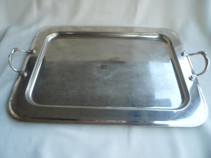 Serving scale - Silverplate