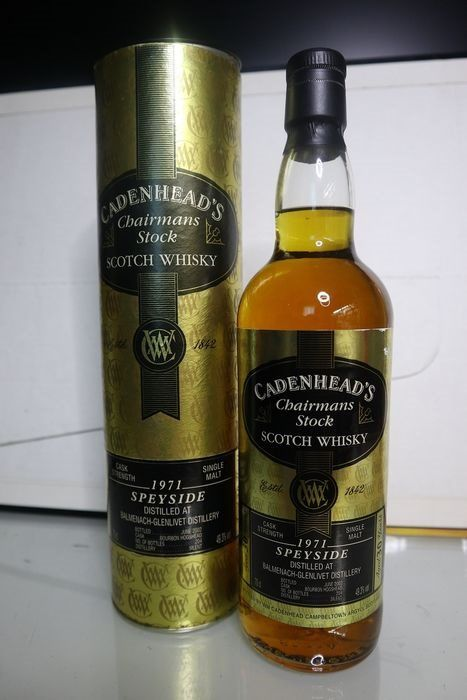 Balmenach 1971 Chairmans Stock - Cadenhead's - b. 2002 - 70cl