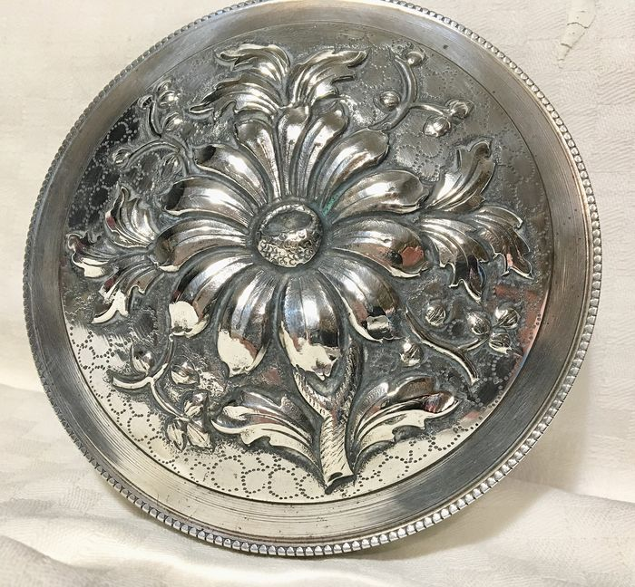 High relief box  - .833 silver - Portugal - First half 20th century