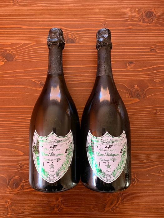 Dom Perignon Limited Edition by Michael Riedel - Champagne Brut - 2 Bottles (0.75L)