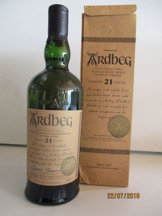 Ardbeg 21 years old Committee Reserve 2001 - 0,7 l