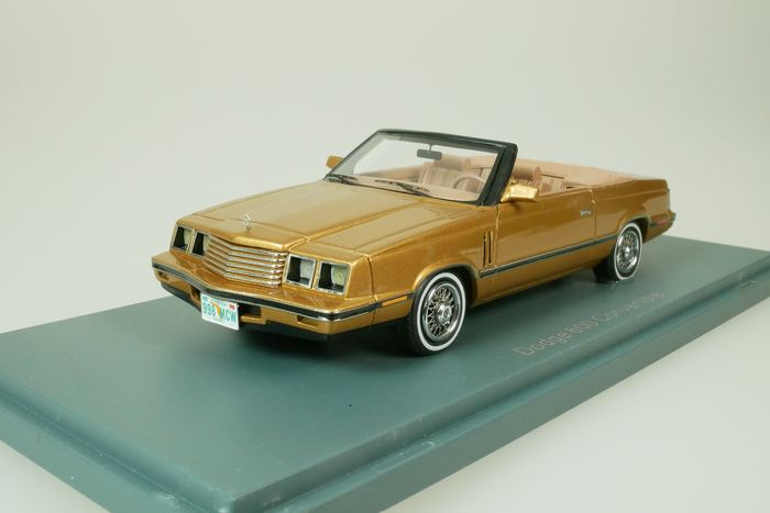 Neo Scale Models - 1:43 - Dodge 600 Convertible Cabriolet - 1984 - or