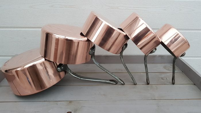 LES CUIVRES DE FAUCOGNEY , made in France - Pan (5) - Copper