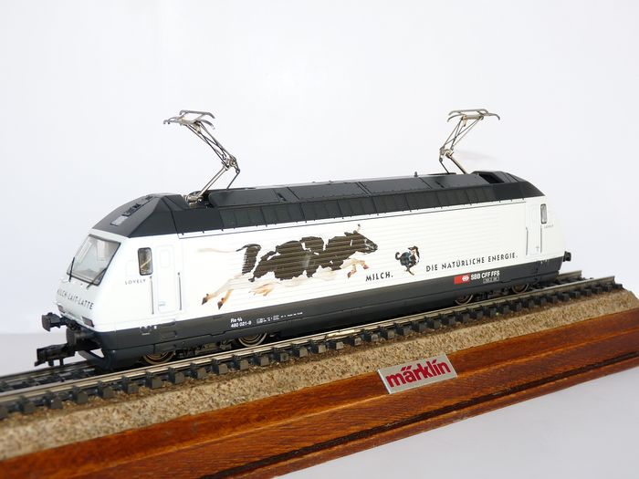 "Märklin H0 - 38612 - Electric locomotive - Re 460 ""Melk de natuurlijke energie""  - SBB CFF FFS"