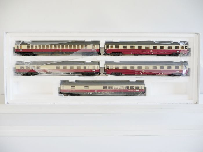 Märklin H0 - 43856 - Passenger carriage set - Express train coach set TEE 32 Parsifal - DB