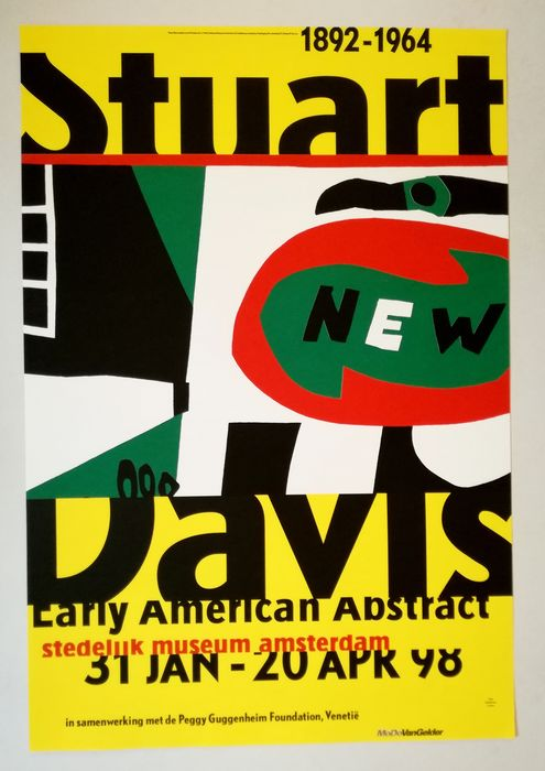 Stuart Davis - Early American Abstract - 1998