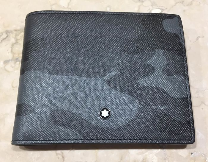 Montblanc - semif MB sartorial wallet 6cc camou Lommebok