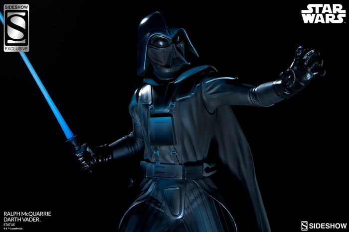Star Wars - Sideshow Toys - 1:4 - Ralph McQuarrie Darth Vader Statue by Sideshow Collectibles