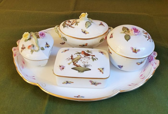 Herend - Coiffeuse (5) - Porcelaine