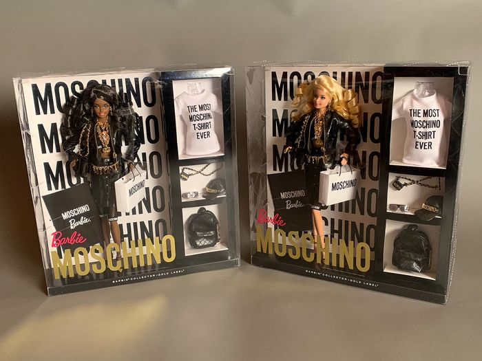 Moschino Limited Edition Moschino Barbie Doll African American