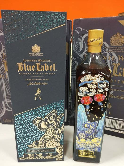 Johnnie Walker Blue Label Year of the Rat Taiwan Limited Edition - 750 ml