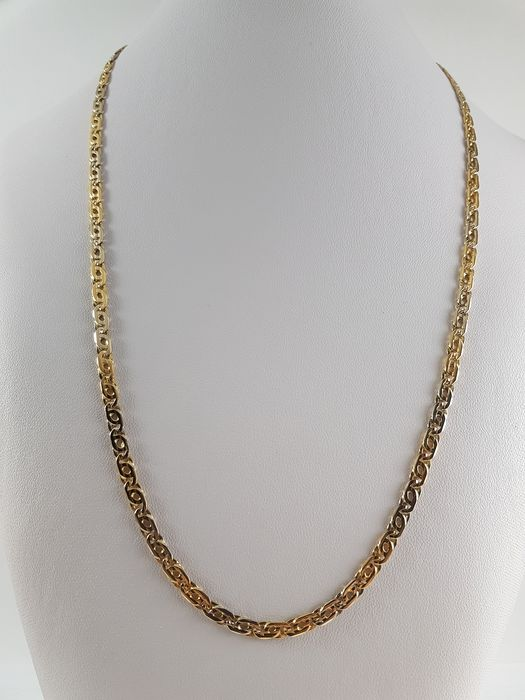 Vittoriosi - 18 kt. White gold, Yellow gold - Necklace