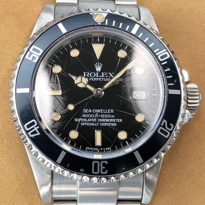"Rolex - Sea-Dweller 666 ""Spider"" Dial - 16660 - Men - 1985"