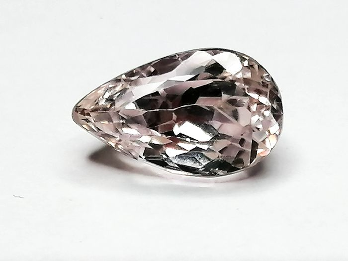 1 pcs Rosa Kunzit - 10.70 ct