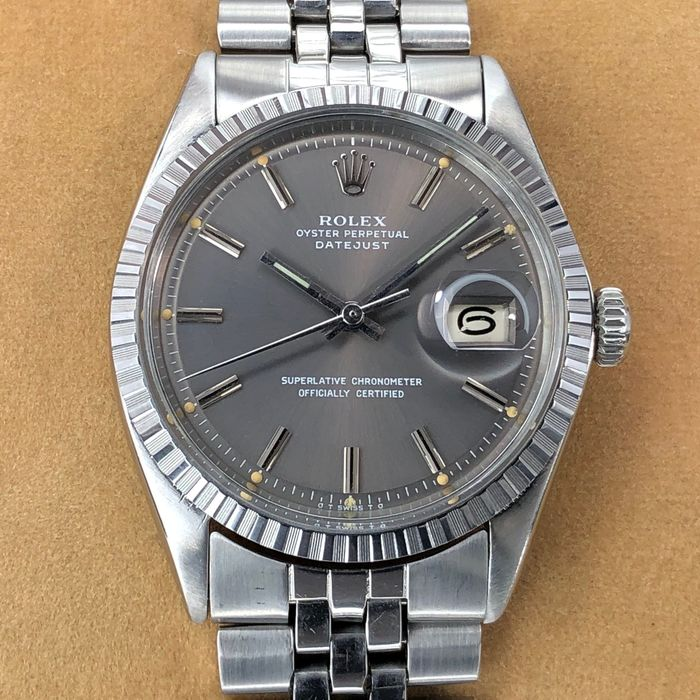 Rolex - Datejust Sigma Grey Dial - 1600 - Homme - 1970-1979