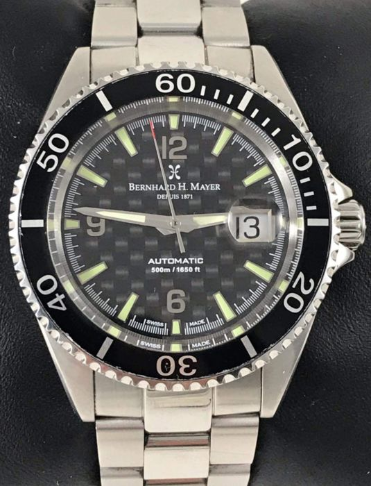 "Bernhard H. Mayer - Nauticus Black Limited Edition 3394/4999 ""NO RESERVE PRICE"" - 41702.560.6 - Heren - 2011-heden"