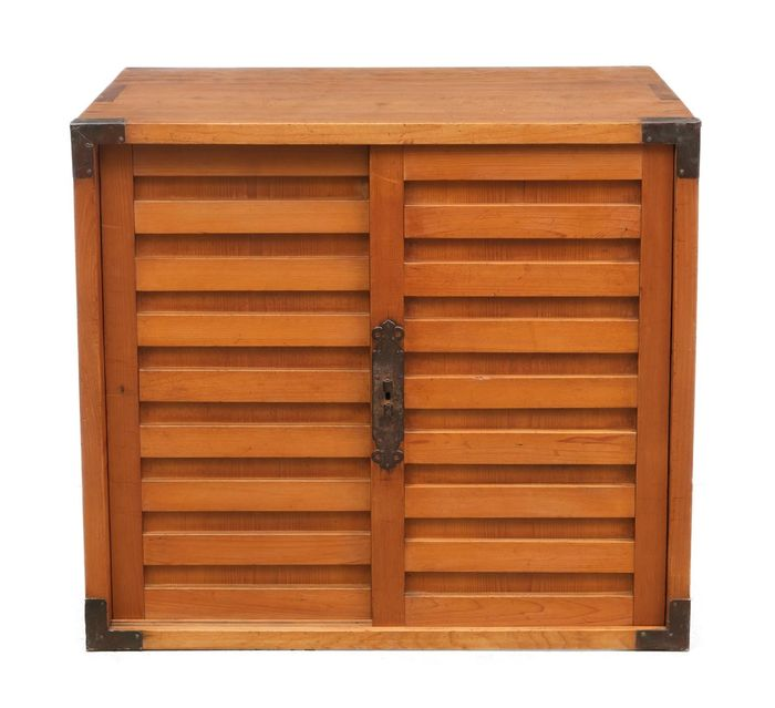 Very nice and restored antique choba dansu (document chest). - Wood -  restored antique choba dansu (document chest). with beautiful patina - Japan - Meiji period (1868-1912)