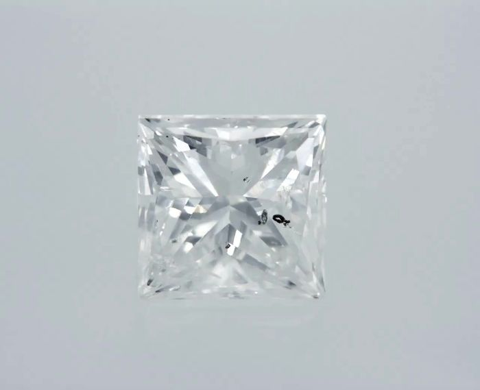 1 pcs Diamante - 0.97 ct - Princesa - E - SI2