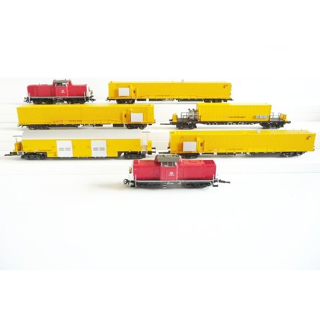 Märklin H0 - 26510 - Train set - 7-part tunnel rescue train - DB