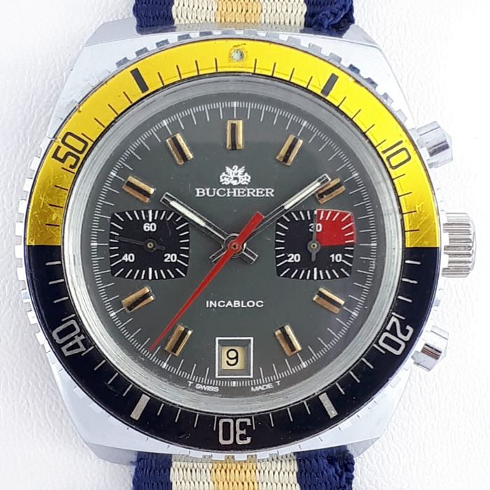 Bucherer - Vintage Diver Manual Wind - Uomo - 1970-1979