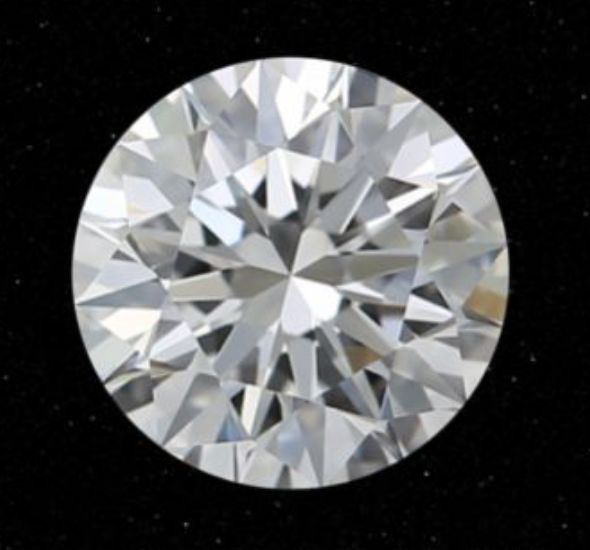 1 pcs Diamond - 0.21 ct - Round - D (colourless) - SI1