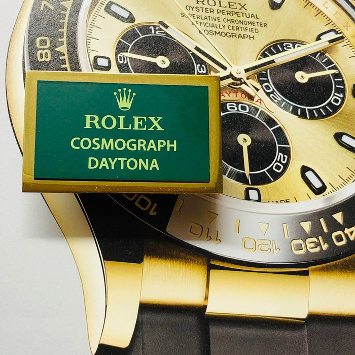 Rolex - NO RESERVE PRICE Rolex COSMOGRAPH DAYTONA Display - Gold plated finished - Unisex - 2011-heden