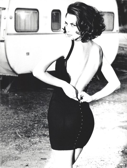 Ellen Von Unwerth (1954-) - Christy Turlington Publication Fashion Photo