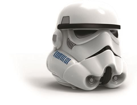 Star Wars - IMC  - Personnage d'action, Base station- Big Head Storm trooper (Discontinued)