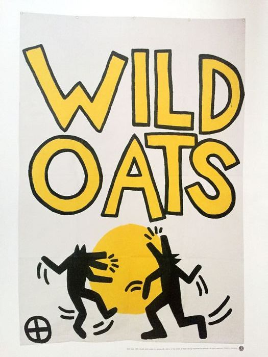 Keith Haring - Poster - Wild Oats