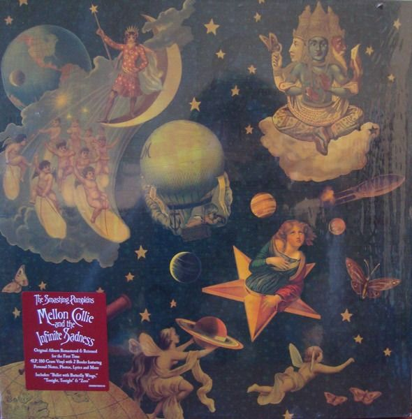 Smashing Pumpkins - Mellon Collie and the Infinite Sadness || 4LP || [Sealed but box has a small damage] - LP Boxset - 2012/2012