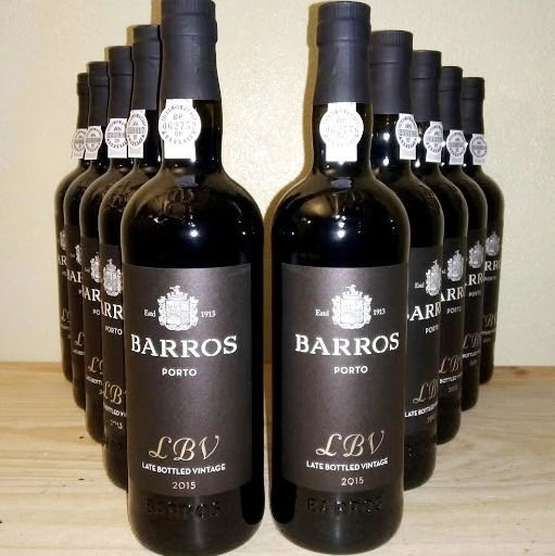 2011 Barros Late Bottled Vintage Port - 8 Bottles (0.75L)
