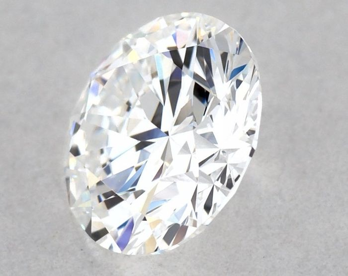 1 pcs Diamant - 0.50 ct - Rond - D (incolore) - VVS2, GIA - VG/EX/EX - Low Reserve Price