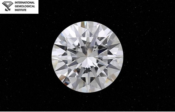 1 pcs Diamant - 0.55 ct - Brillant - D (farblos) - IF (makellos)