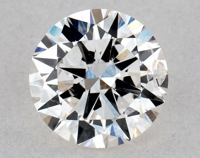 1 pcs Diamante - 0.70 ct - Redondo - H - SI2, IGI - VG/GD/VG - Low Reserve Price