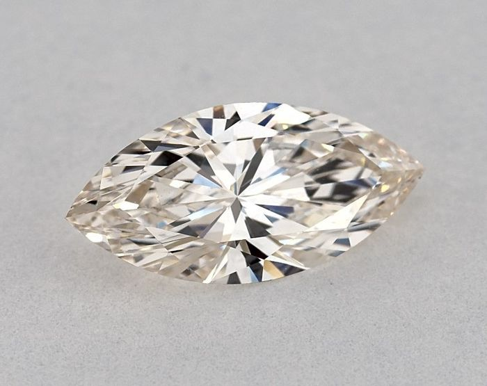 1 pcs Diamant - 1.21 ct - Marquise - J - VVS1, GIA - EX/VG - Low Reserve Price