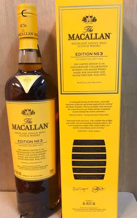 Macallan Edition No.3 - Original bottling - 70cl