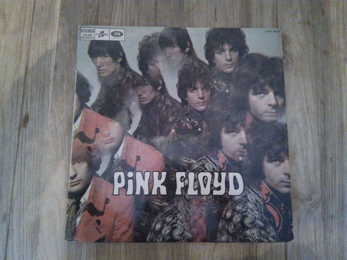 Pink Floyd - The Piper At The Gates Of Dawn [French Green Labels Columbia Pres] - LP album - 1967