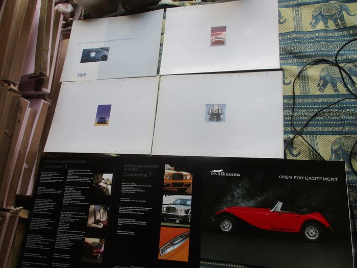 Brochures / Catalogi - plus Panther - TVR