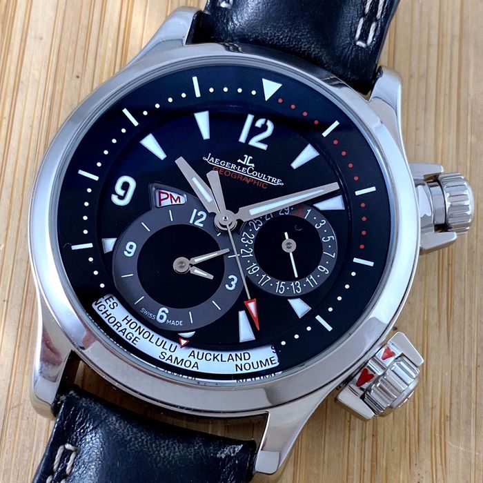 Jaeger-LeCoultre - Master Compressor Geographic World - 146883 - Homme - 2000-2010