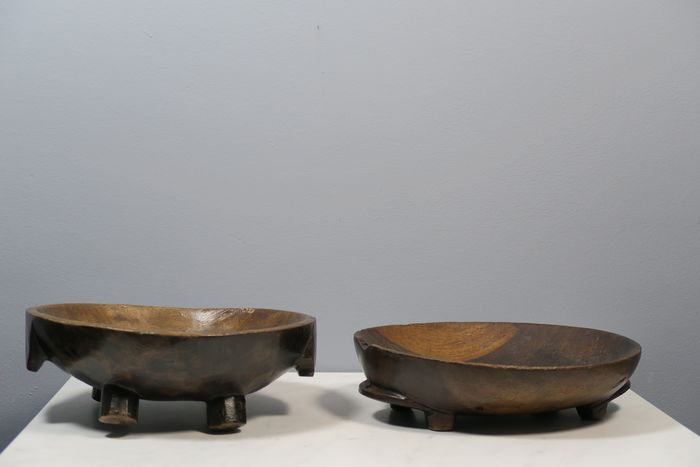 meat dishes (2) - Wood - Msingha - ZULU - South Africa